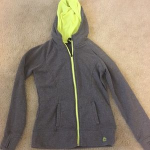 Tops - Grey and neon medium RBX Hoodie.